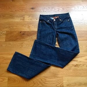 NEVER WORN TORY BURCH CLASSIC BOOTCUT JEANS